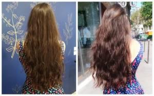 Lauren in the Hair